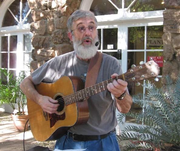 Mark sings at Boyce Thompson